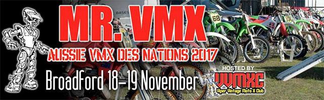Mr. VMX Aussie VMX Des Nations