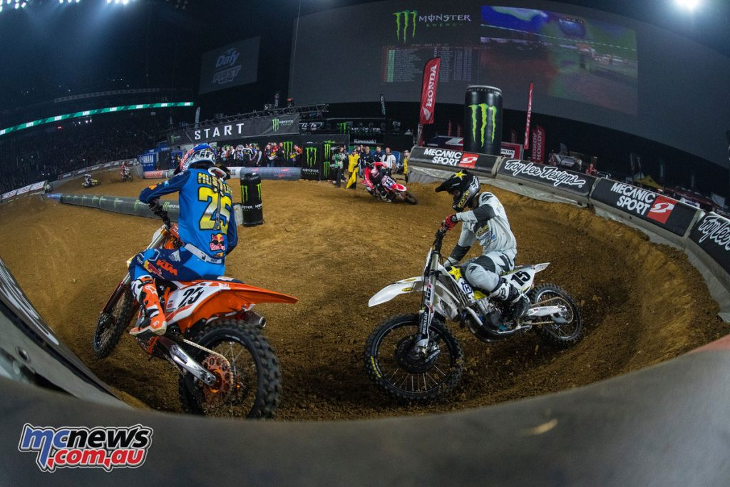 Paris Supercross 2017