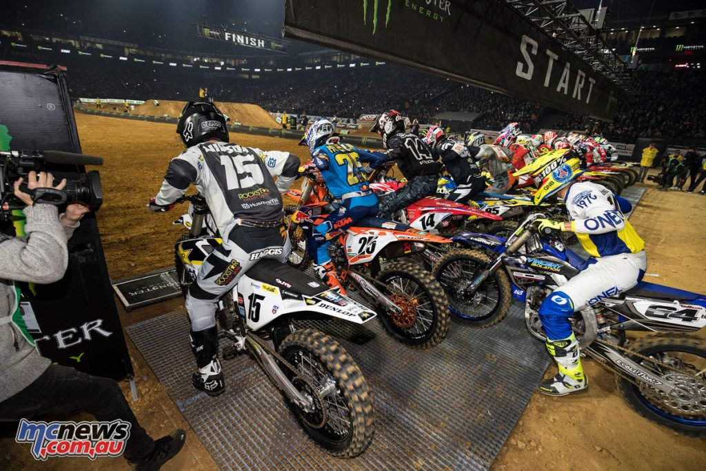 The U Arena returned Europe's largest indoor motorcycle race to Paris