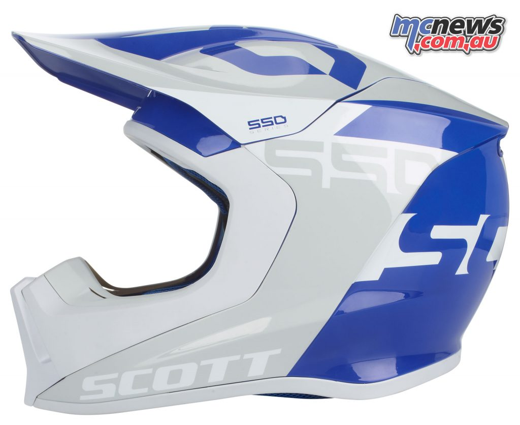 Scott MX550 helmet - Blue