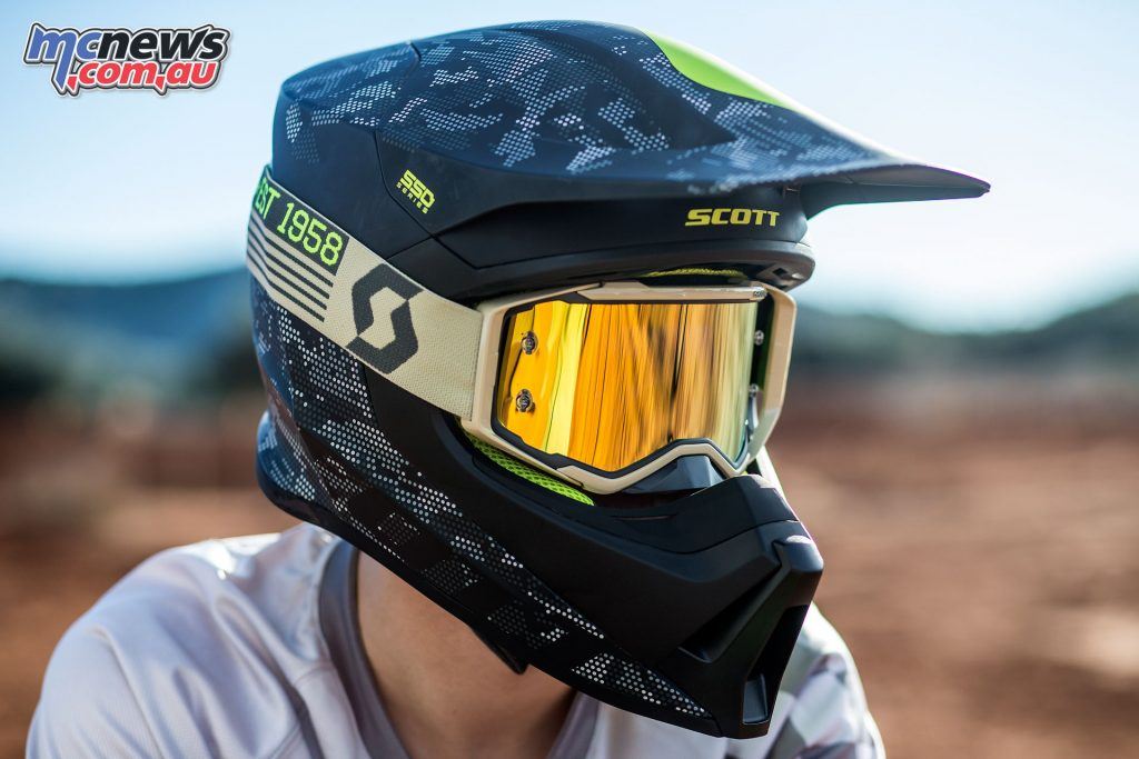 Scott's new MX550 helmet