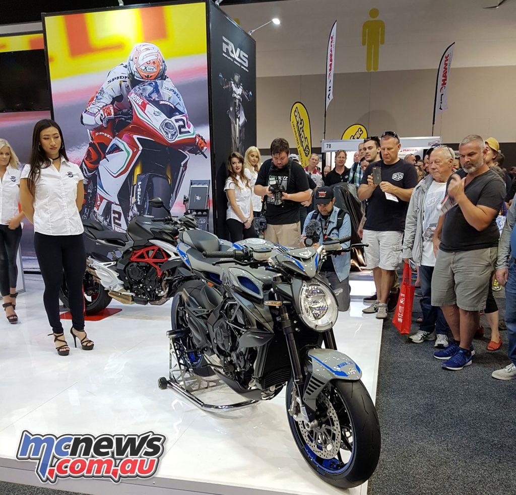 MV Agusta's 2018 Brutale 800 RR Pirelli