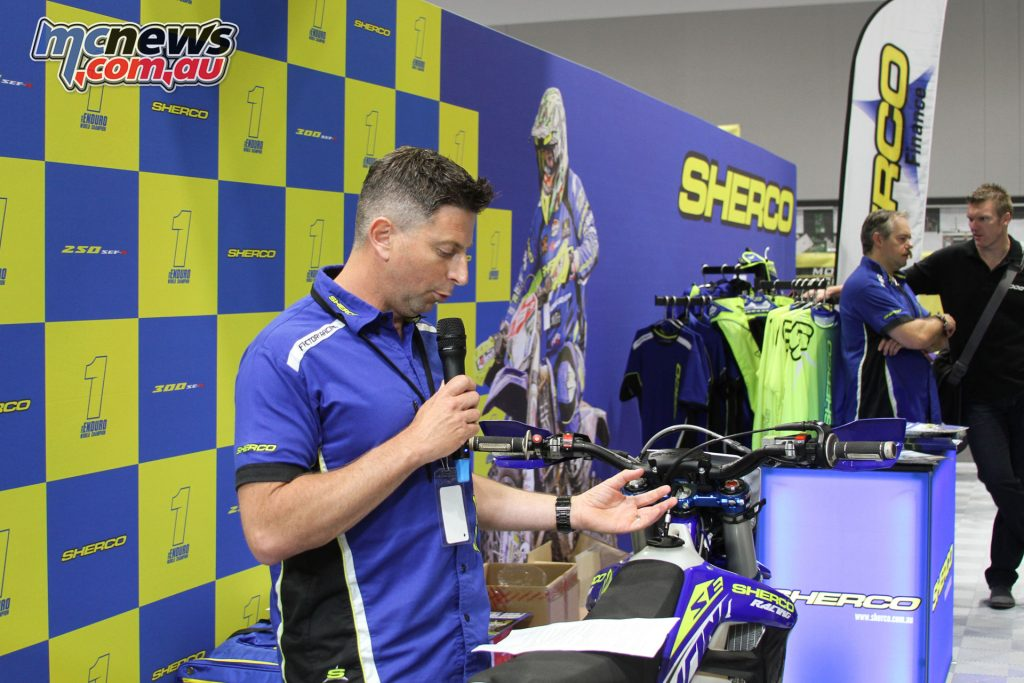 Sherco also introduced their 125 SE-R