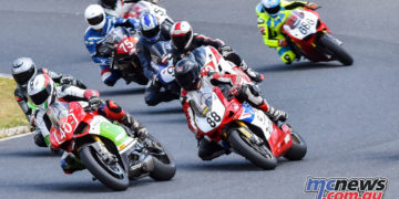 The Victorian Road Racing Championship Final took place at Broadford