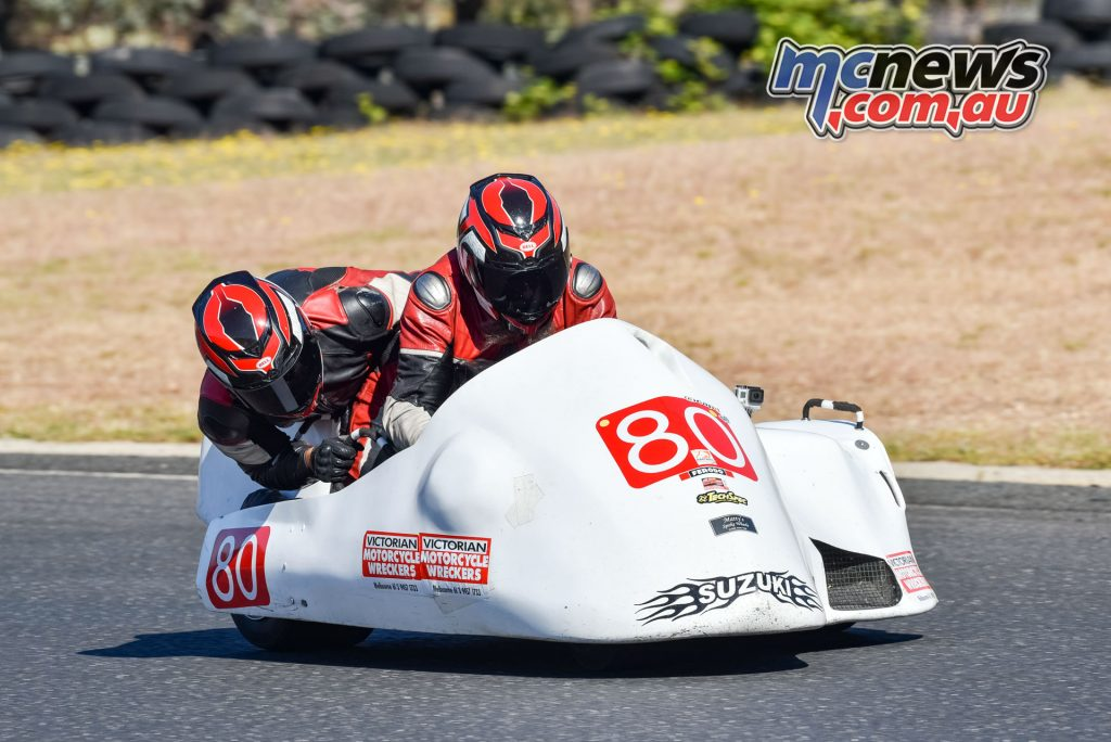 Ron Marten and Damien Edis took the final race win of the season