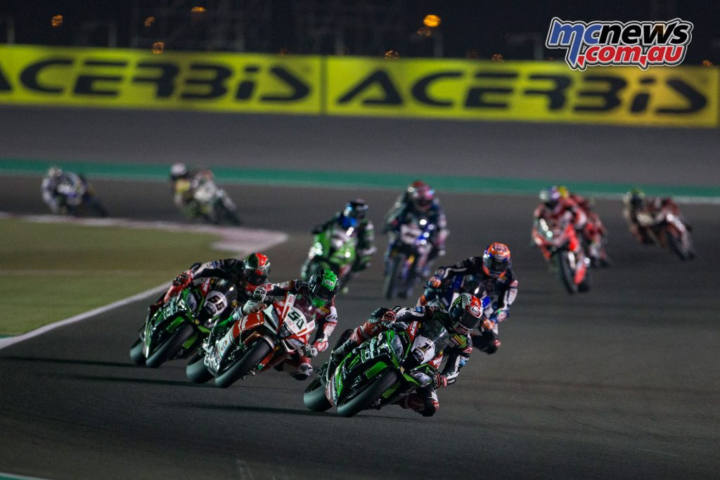 Rea was looking to end the season on a high as Davies and Sykes fought it out for second overall