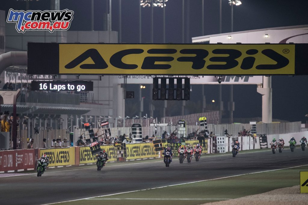 Rea continued his unbeatable form at Losail