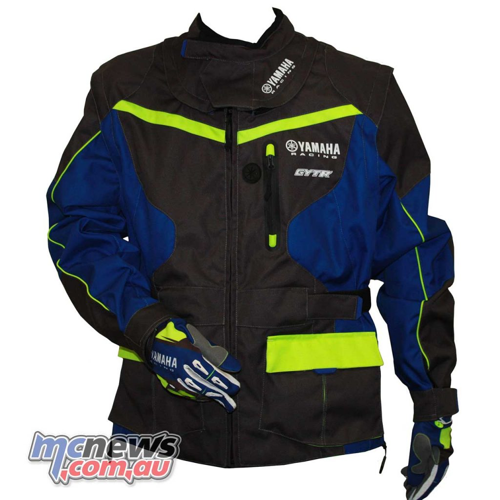 Yamaha Racing Enduro Jacket - $285 Part #A17-GJ101-F0