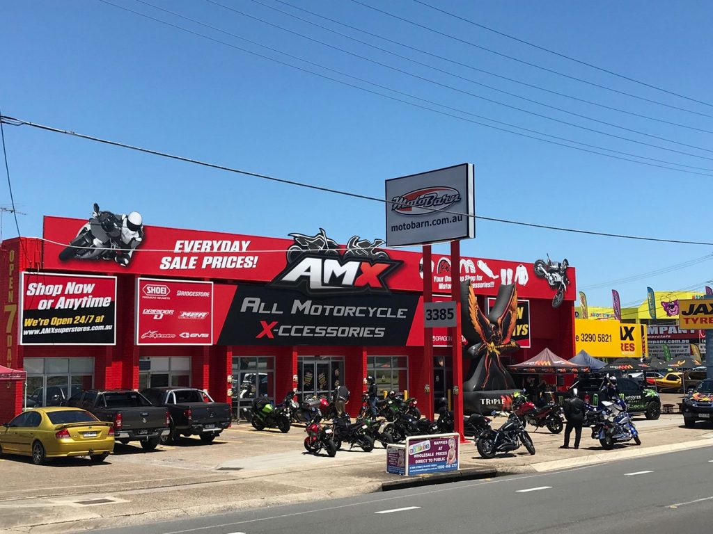 AMX Motorcycle Accessory Superstore opens their doors in Brisbane