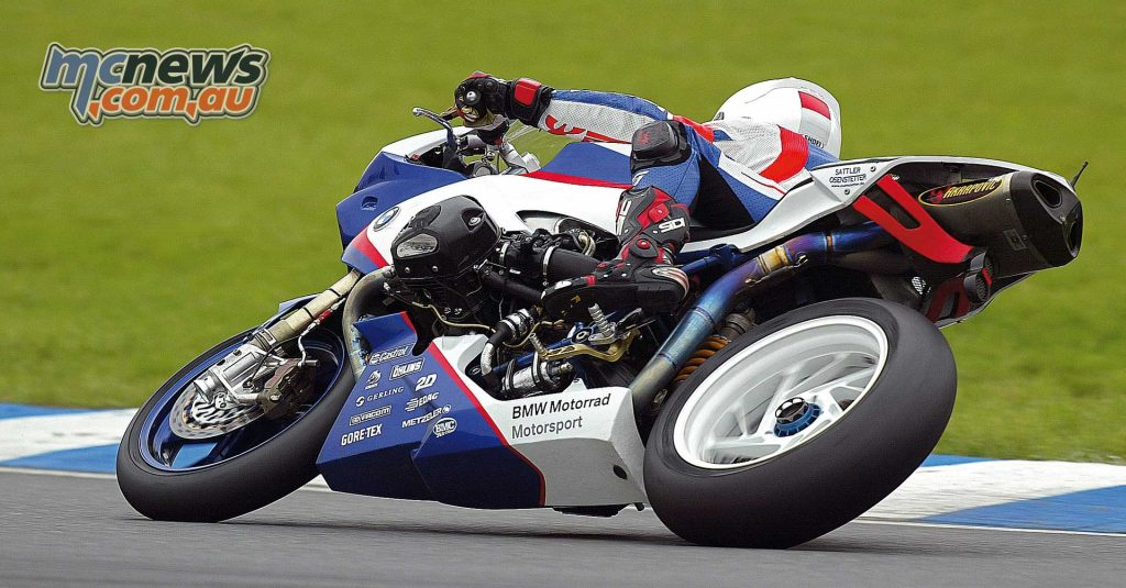 Richard Cooper racing the BMW HP2 Sport