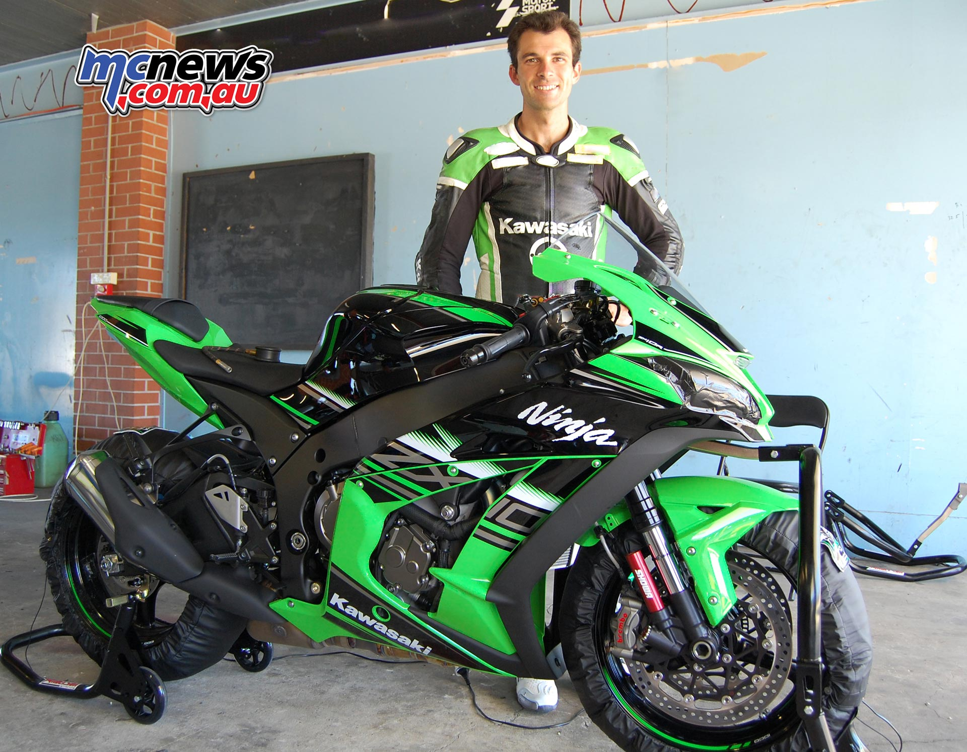 Bryan Staring will contend aboard his Kawasaki Motors Australia backed Ninja ZX-10R in the 2018 Australian Superbike Championship under the Kawasaki BCperformance Racing Team banner.