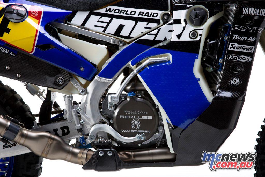 Yamalube Yamaha Official Rally Team WR450F