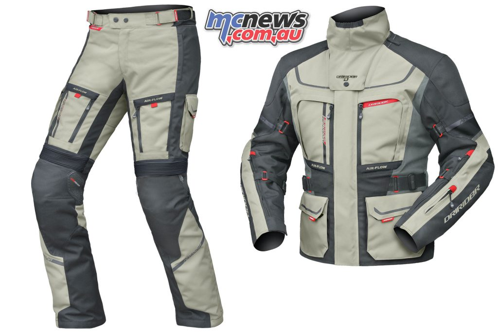 Men's DriRider Vortex Adventure 2 Jacket & Pants - Sand