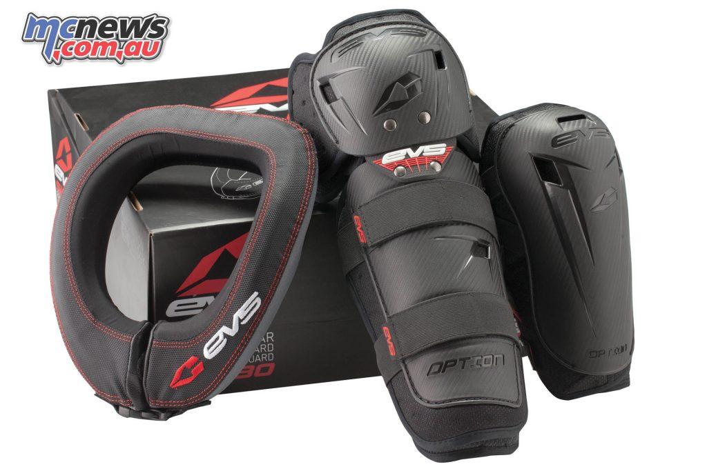 EVS SLAM Combo kit -R2 Race Collar OptionalKnee & Elbow Pads - From $104.95