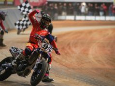 26-year-old American Supersport racer J.D. Beach conquered Superprestigio 2017 at the short track of Palau Sant Jordi