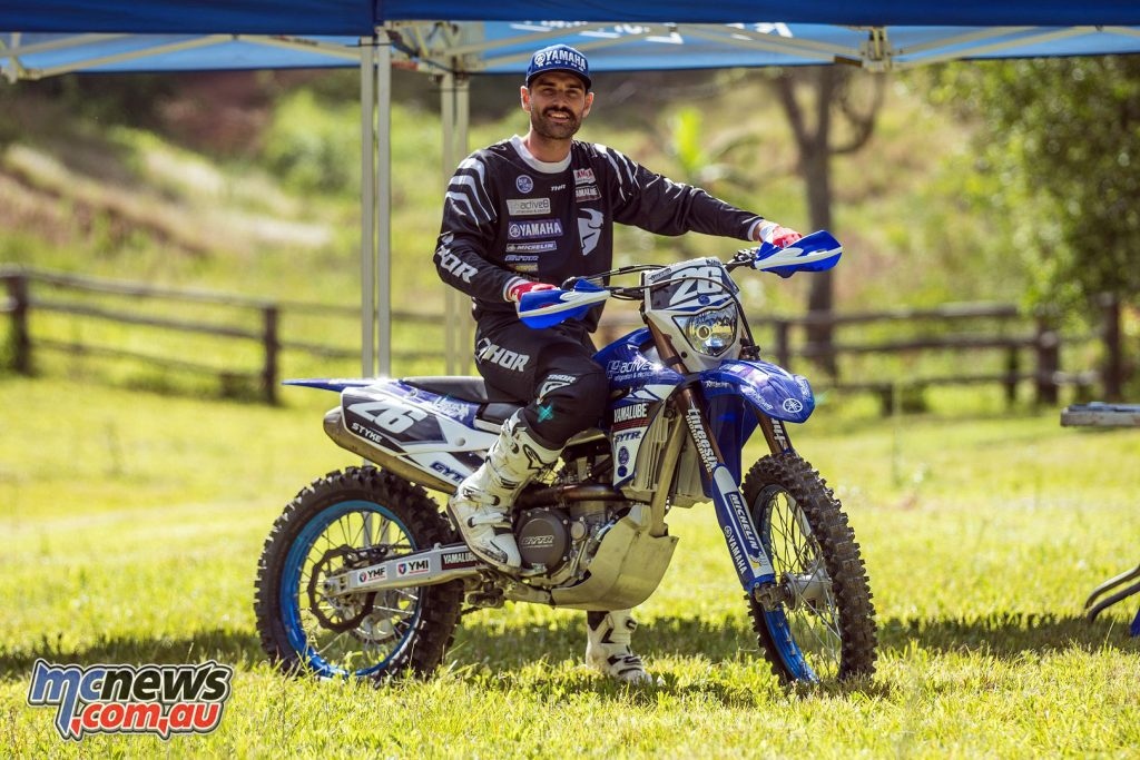 Luke Styke signs with Active8 Yamaha