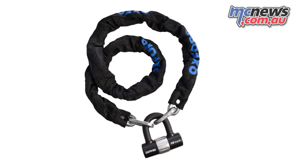 Oxford HD chain lock (1.5m) - $79.95 RRP