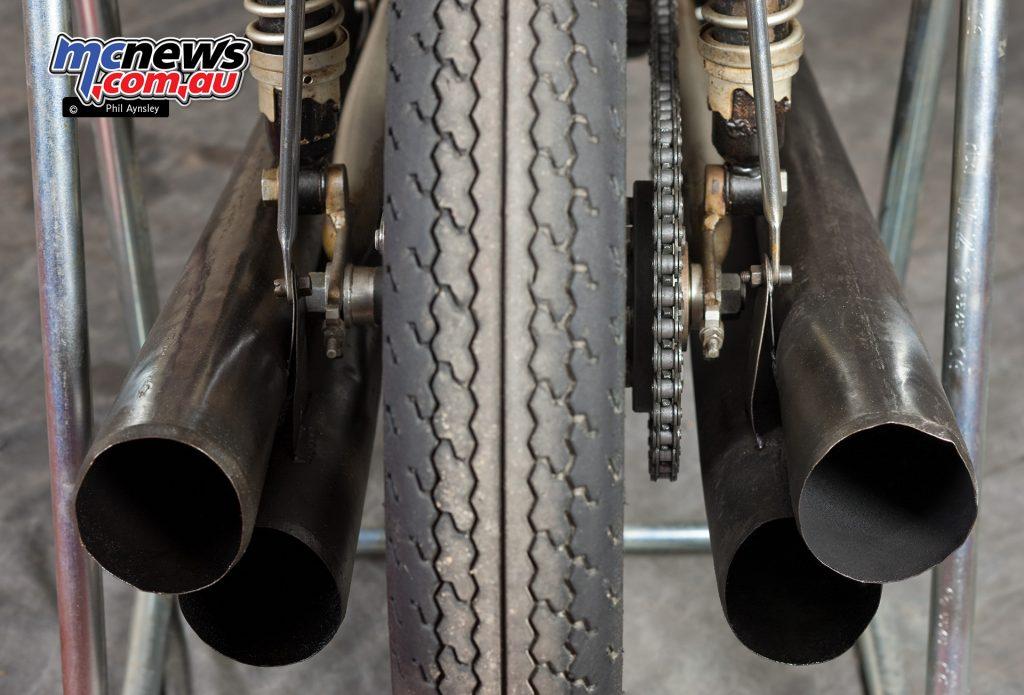 Mototrans 250 Grand Prix Bike rear end