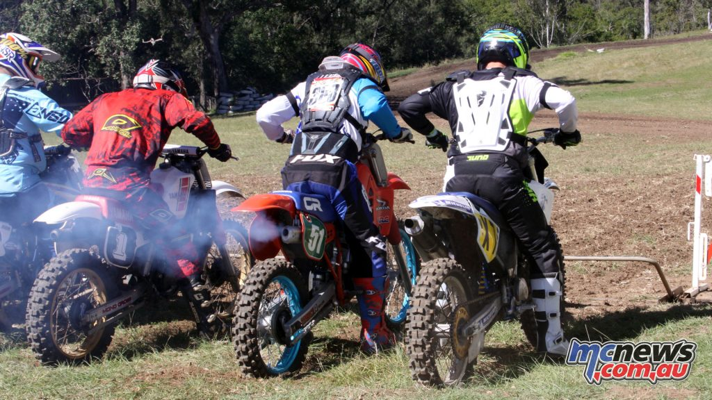Pre 1995 Class to be recognised in Post Classic Motocross and Dirt Track Racing for 2018