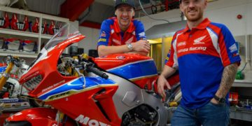 Ian Hutchinson and Lee Johnston