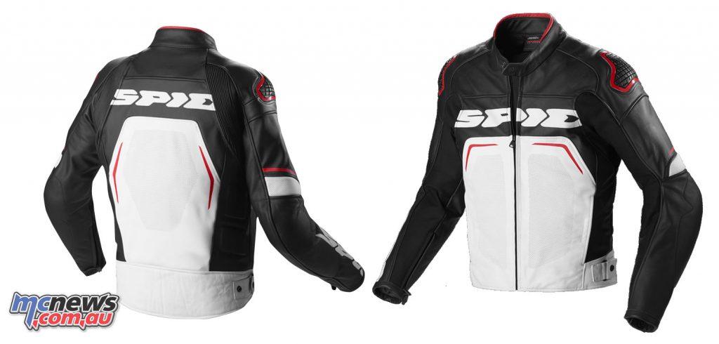 The Spidi EvoRider Wind Jacket - Black Red