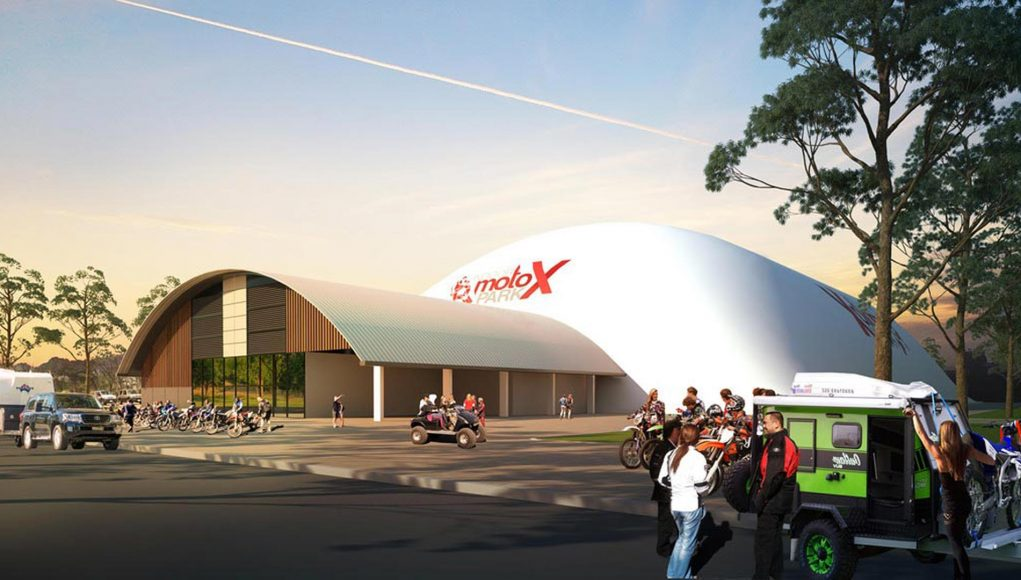 Sydney Indoor MotoX Park - has been approved by Blacktown City Council with construction expected to begin early in the new year.