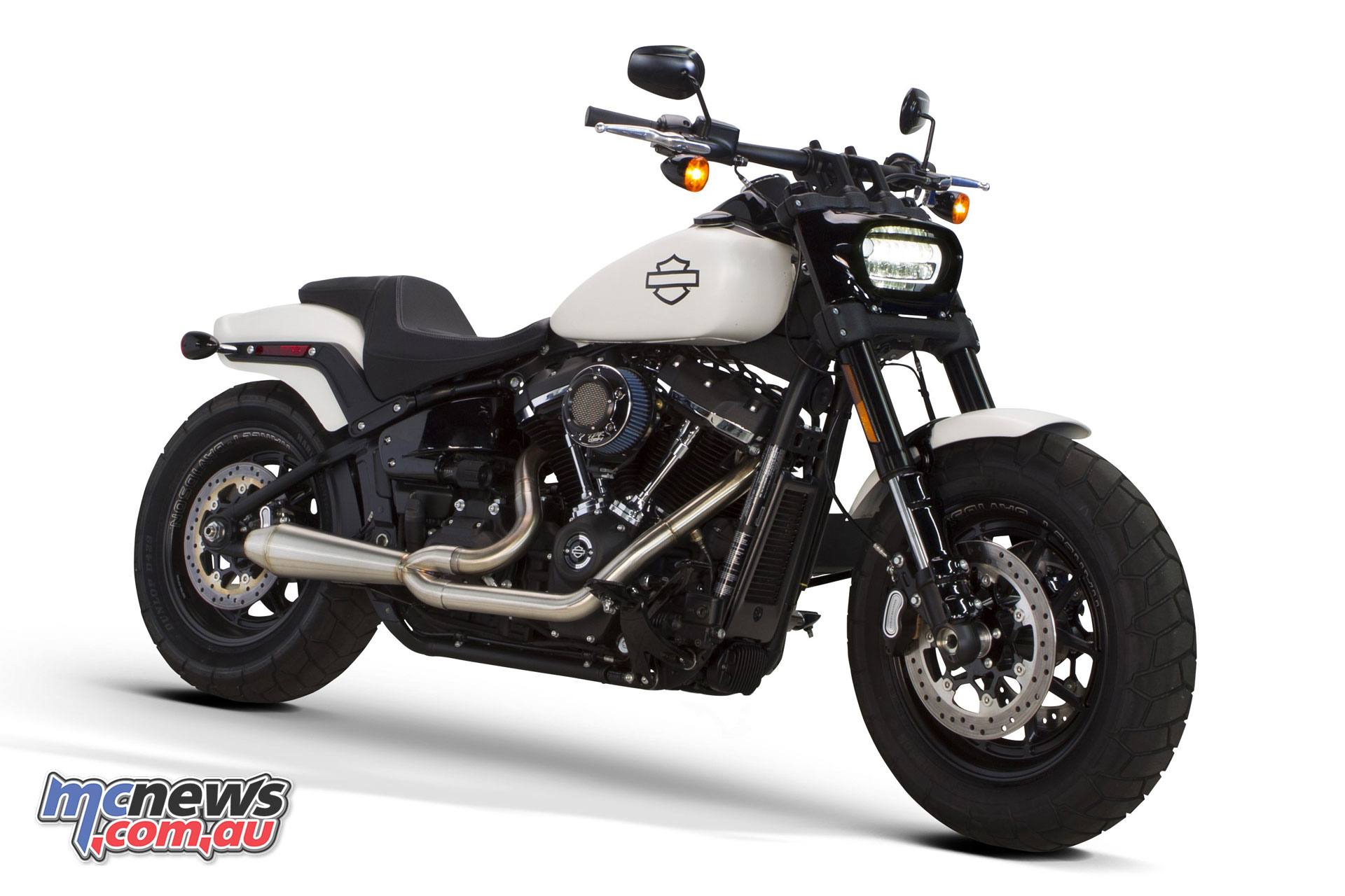 latest bikes - two brothers racing softail comp-s 2-1 full system