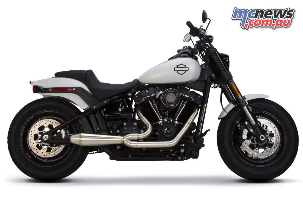 TBR Softail Comp-S 2-1 full system with Megaphone Gen II