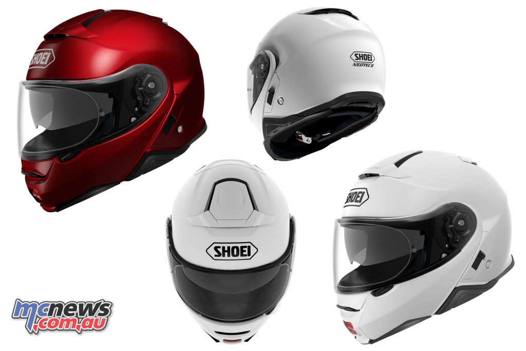 Newly designed cheekpads and fully removable and washable liners are featured, with particular note towards reducing wind ingress from under the helmet