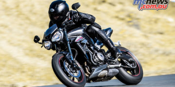The Triumph Street Triple RS meets all the industries restrictions and still offers an exceptional ride