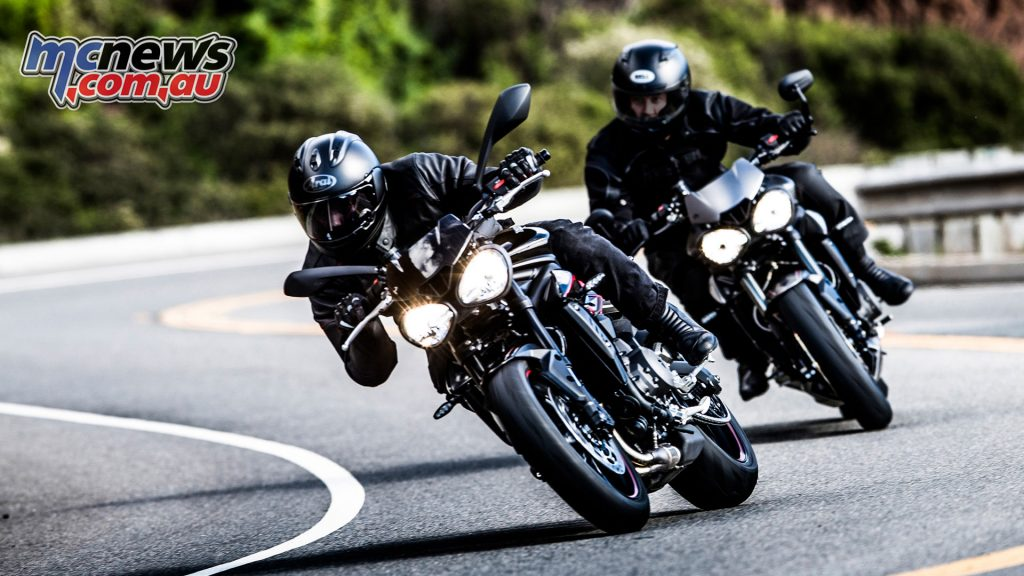 The Street Triple 765s offer exceptional handling, backed by a new Traction Control system thanks to the new RbW system
