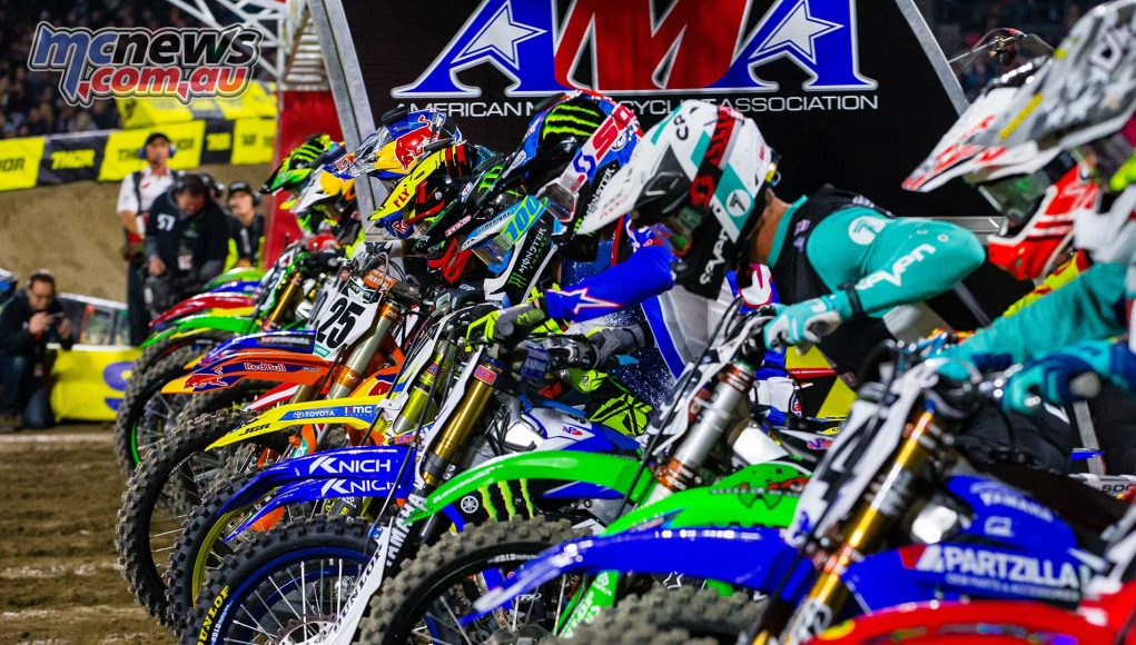 Supercross blasts out of the gates at Anaheim 1 to start season 2018 with a bang!