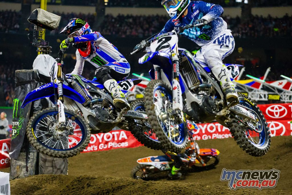 Justin Barcia and Cody Webb