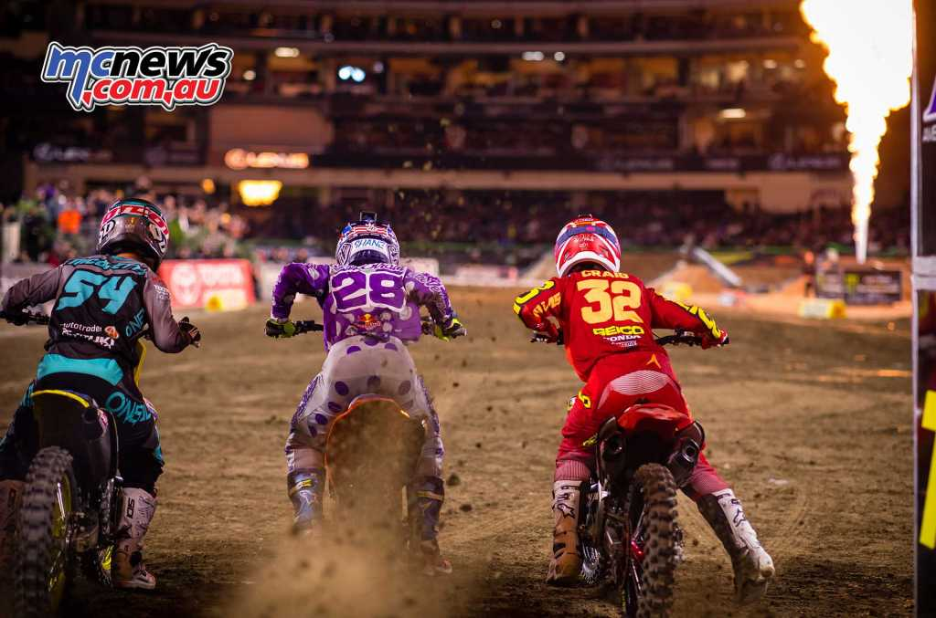 250SX blasts off the line for A2