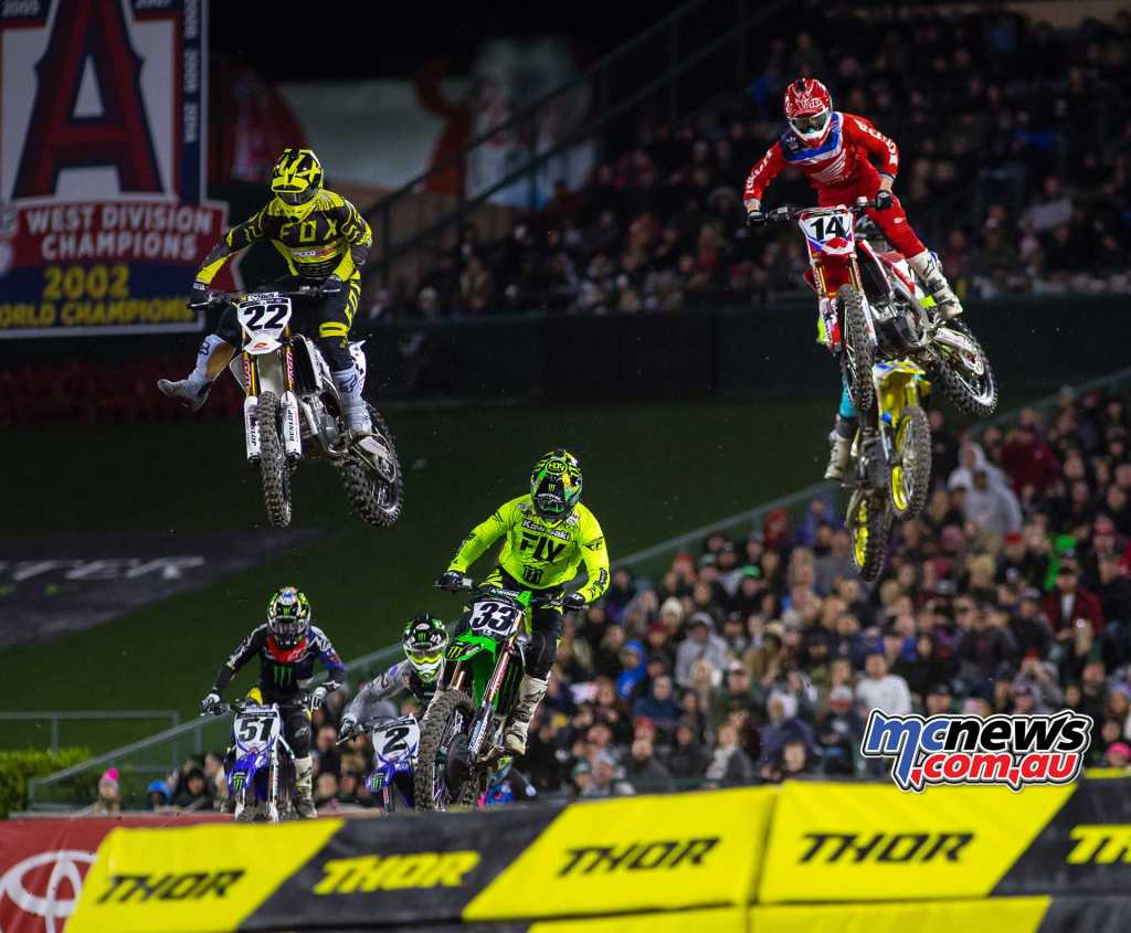 Chad Reed is still struggling from his ankle surgery and carded 12-17-16 results for 14th overall