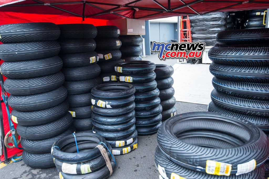 The Pirelli choices at the ASBK Test - Image by TH