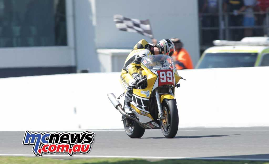 Jeremy McWilliams wins International Challenge Race Four - Image by Cameron White