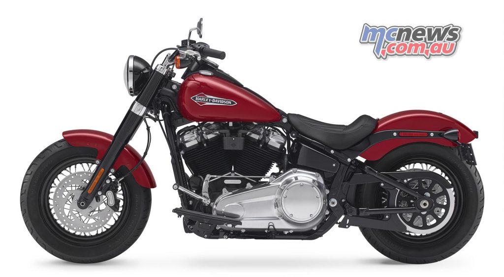 The 2018 Harley-Davidson Softail Slim