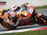 Dani Pedrosa tops day one