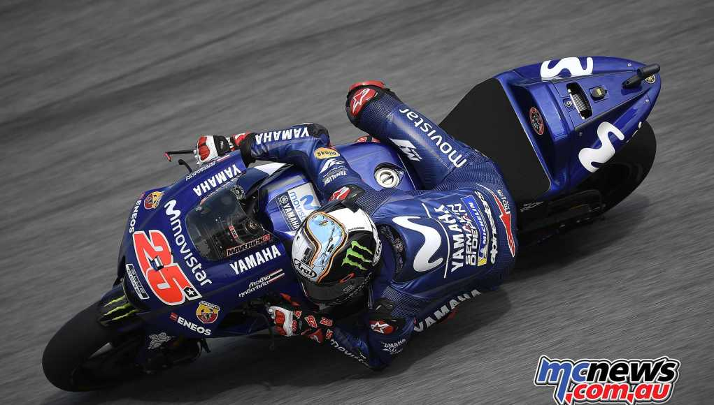 Maverick Viñales tops second day of testing at Sepang