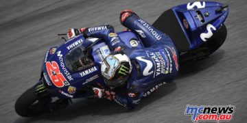 Maverick Viñales tops second day of testing at Sepang
