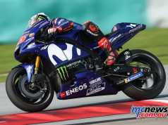 Maverick Vinales tops day two at Sepang