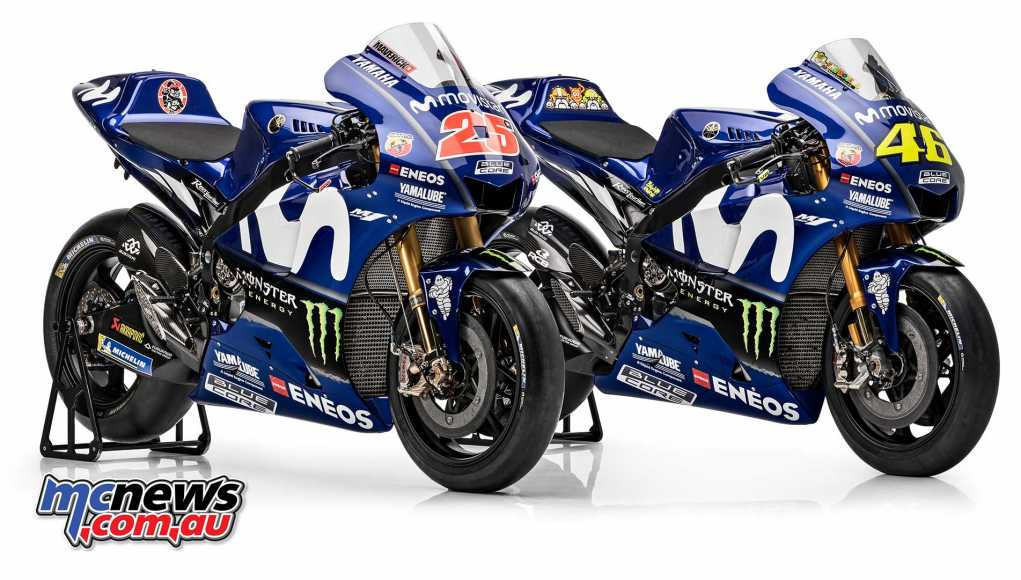 2018 Yamaha YZR-M1 Reveal
