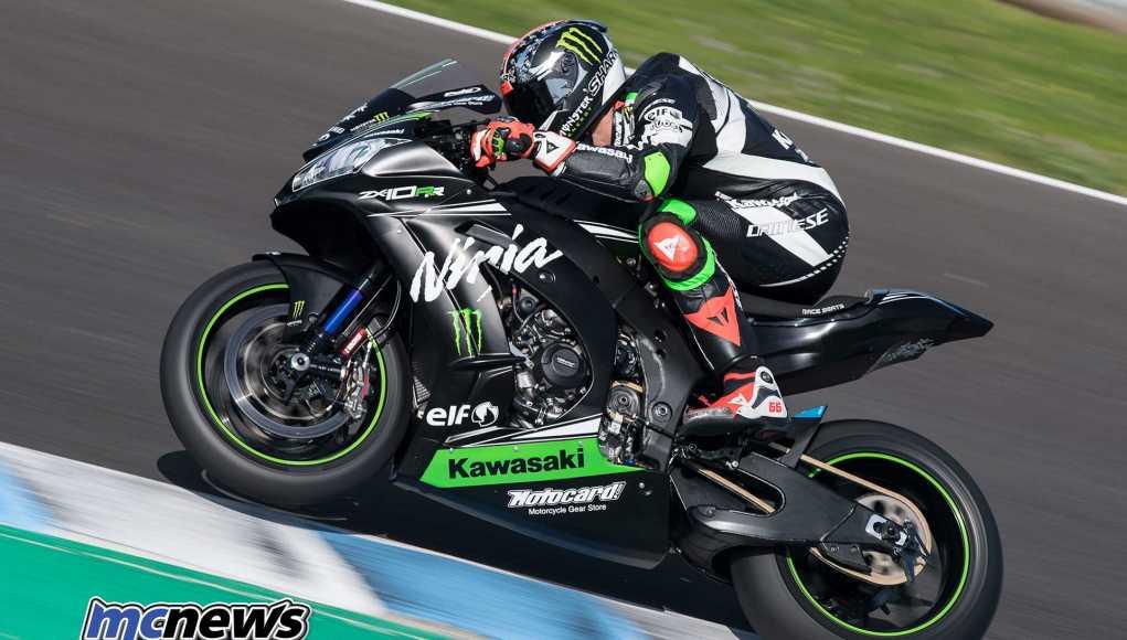 Tom Syukes tops Jerez WorldSBK Test