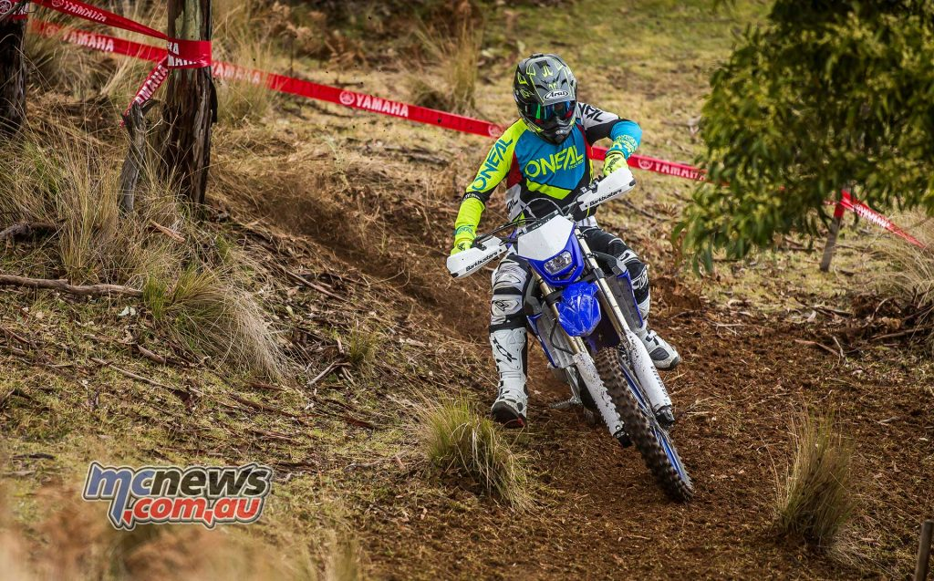 The 2018 Yamaha WR250F would be ideal for anyone wanting to race enduro and cross country