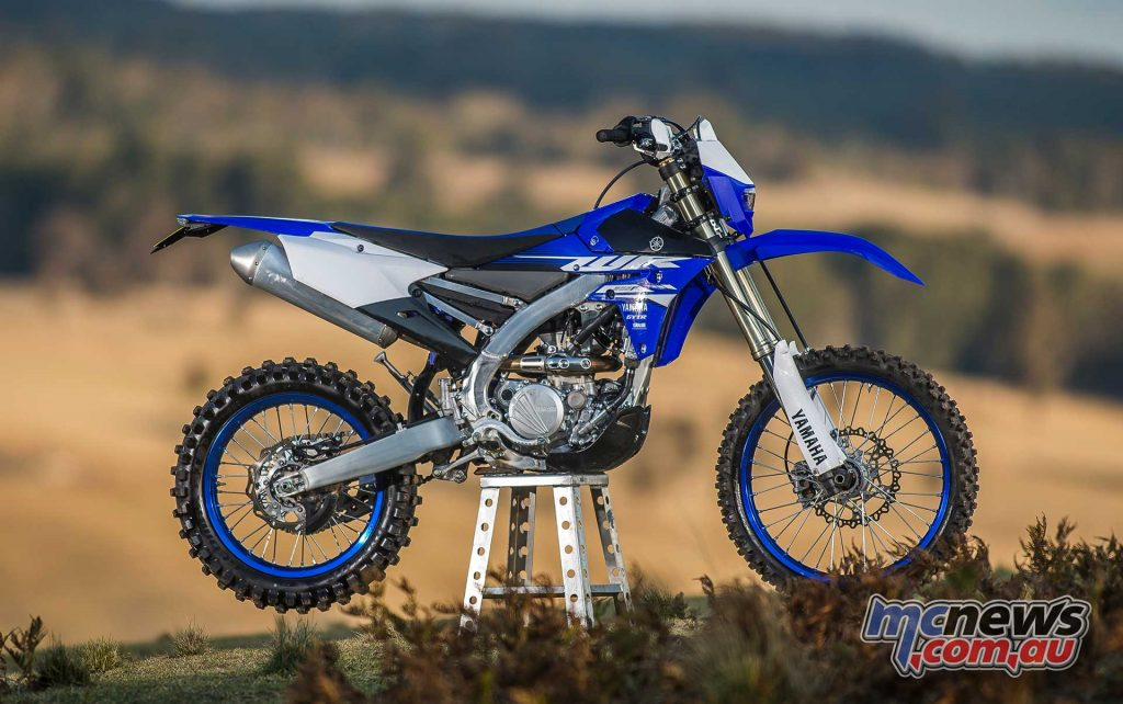 Yamaha boast that the 2018 WR250F is a viable option rather than the larger 450