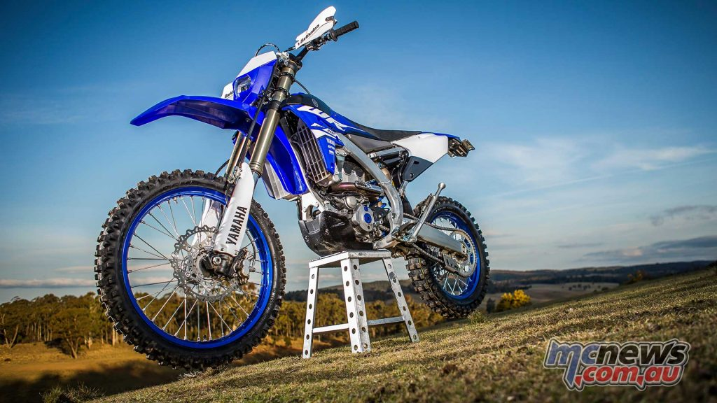 The new WR250F would make for a great race machine