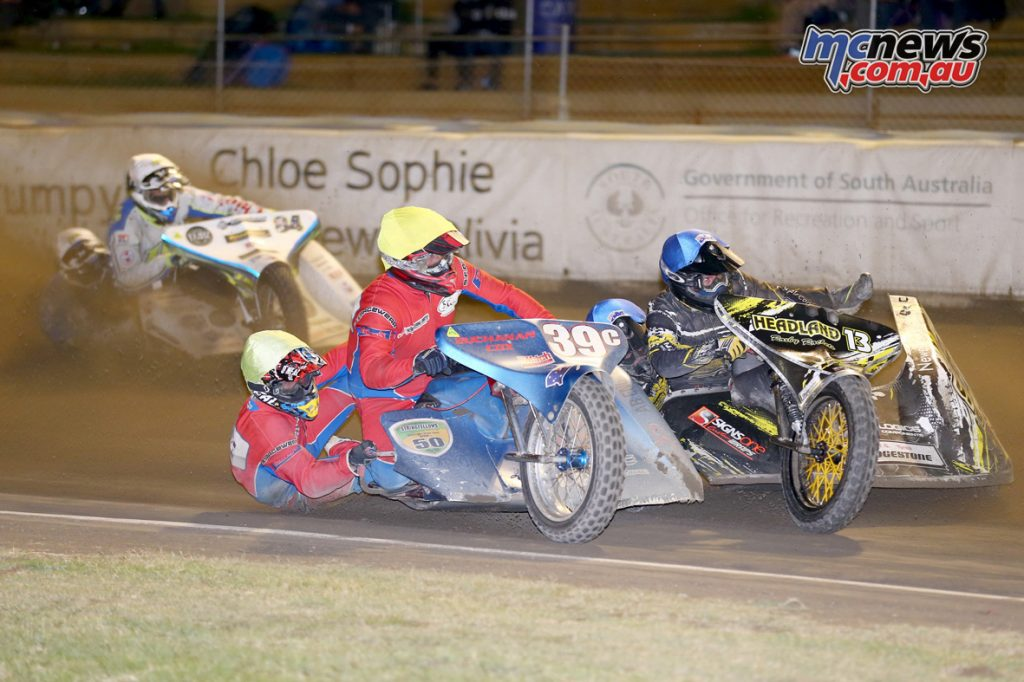 The Nankang Tyres/Mitch Chassis Sidecar Super Prix kicks off this January