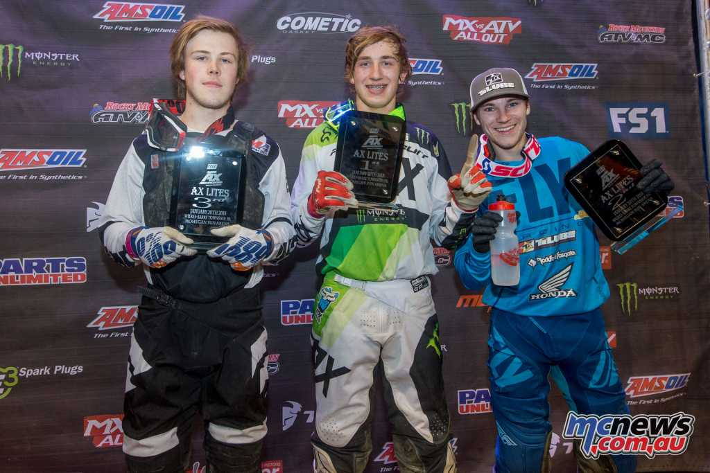AX Lites East Class Main Event Podium -