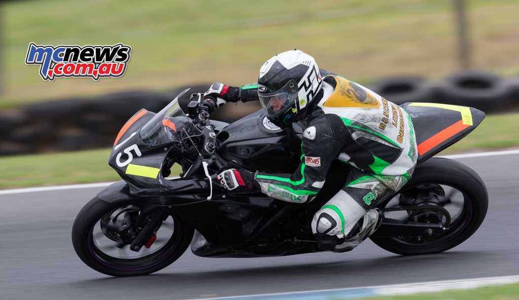 Bronson Pickett moved from a Kawasaki last year to the Yamaha in 2018 - Image by TBG
